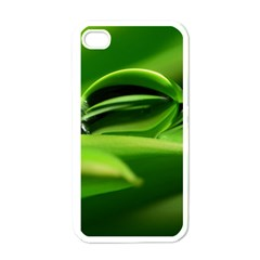 Waterdrop Apple Iphone 4 Case (white) by Siebenhuehner