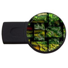 Modern Art 4gb Usb Flash Drive (round) by Siebenhuehner