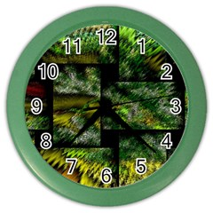 Modern Art Wall Clock (color) by Siebenhuehner