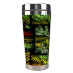 Modern Art Stainless Steel Travel Tumbler Left
