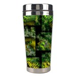 Modern Art Stainless Steel Travel Tumbler Center