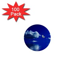 Sky 1  Mini Button (100 Pack) by Siebenhuehner