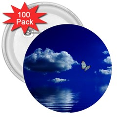 Sky 3  Button (100 Pack)