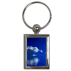 Sky Key Chain (rectangle) by Siebenhuehner