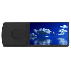 Sky 4gb Usb Flash Drive (rectangle) by Siebenhuehner