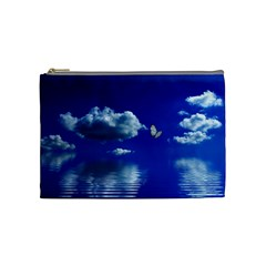 Sky Cosmetic Bag (medium) by Siebenhuehner