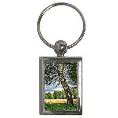 Trees Key Chain (rectangle) by Siebenhuehner