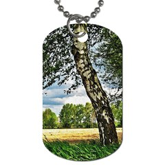 Trees Dog Tag (two Sided)