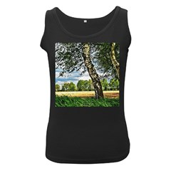Trees Womens  Tank Top (black) by Siebenhuehner