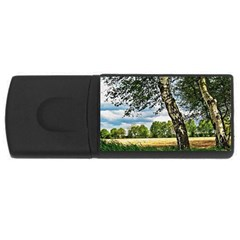 Trees 4gb Usb Flash Drive (rectangle) by Siebenhuehner