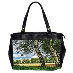 Trees Oversize Office Handbag (two Sides) by Siebenhuehner