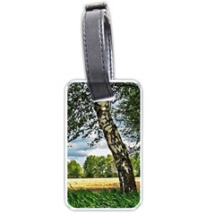 Trees Luggage Tag (one Side) by Siebenhuehner