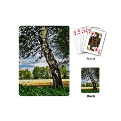Trees Playing Cards (mini) by Siebenhuehner