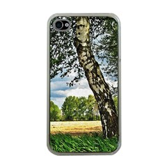 Trees Apple Iphone 4 Case (clear) by Siebenhuehner