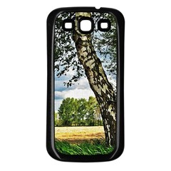 Trees Samsung Galaxy S3 Back Case (black) by Siebenhuehner