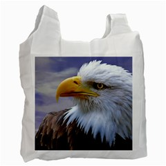 Bald Eagle Recycle Bag (one Side) by Siebenhuehner
