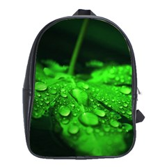 Waterdrops School Bag (large) by Siebenhuehner