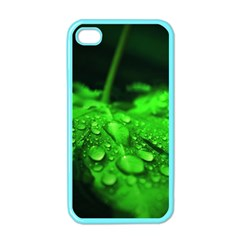 Waterdrops Apple Iphone 4 Case (color) by Siebenhuehner