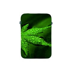 Leaf With Drops Apple Ipad Mini Protective Soft Case by Siebenhuehner