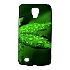 Leaf With Drops Samsung Galaxy S4 Active (i9295) Hardshell Case by Siebenhuehner