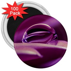 Waterdrop 3  Button Magnet (100 Pack) by Siebenhuehner