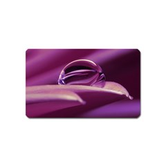 Waterdrop Magnet (name Card) by Siebenhuehner