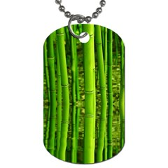 Bamboo Dog Tag (one Sided) by Siebenhuehner