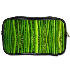 Bamboo Travel Toiletry Bag (one Side) by Siebenhuehner