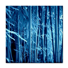 Blue Bamboo Ceramic Tile by Siebenhuehner