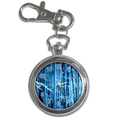 Blue Bamboo Key Chain & Watch by Siebenhuehner