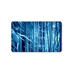 Blue Bamboo Magnet (name Card) by Siebenhuehner