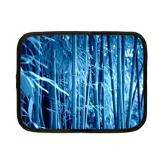 Blue Bamboo Netbook Case (small) by Siebenhuehner