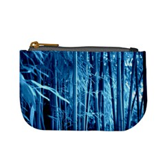 Blue Bamboo Coin Change Purse by Siebenhuehner