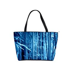 Blue Bamboo Large Shoulder Bag by Siebenhuehner