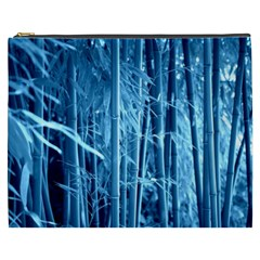Blue Bamboo Cosmetic Bag (xxxl) by Siebenhuehner