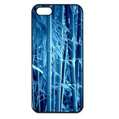 Blue Bamboo Apple Iphone 5 Seamless Case (black) by Siebenhuehner