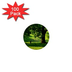 Trees 1  Mini Button (100 Pack) by Siebenhuehner