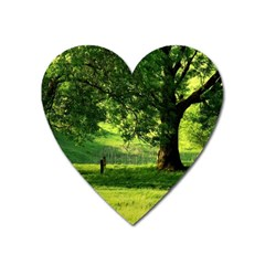 Trees Magnet (heart) by Siebenhuehner
