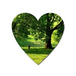 Trees Magnet (Heart) Front