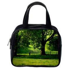 Trees Classic Handbag (one Side) by Siebenhuehner
