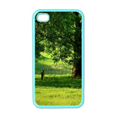 Trees Apple Iphone 4 Case (color) by Siebenhuehner