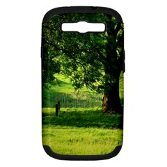 Trees Samsung Galaxy S Iii Hardshell Case (pc+silicone) by Siebenhuehner