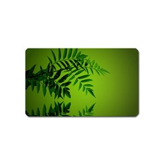 Leaf Magnet (name Card) by Siebenhuehner