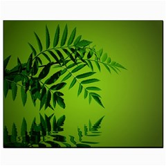 Leaf Canvas 8  X 10  (unframed) by Siebenhuehner