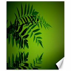 Leaf Canvas 20  X 24  (unframed) by Siebenhuehner