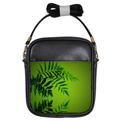 Leaf Girl s Sling Bag by Siebenhuehner