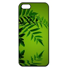 Leaf Apple Iphone 5 Seamless Case (black) by Siebenhuehner