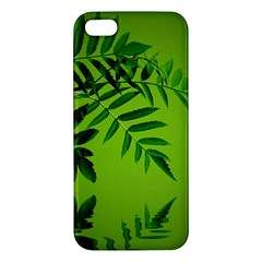 Leaf Iphone 5 Premium Hardshell Case by Siebenhuehner