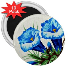 Enzian 3  Button Magnet (10 Pack) by Siebenhuehner