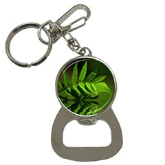 Leaf Bottle Opener Key Chain by Siebenhuehner